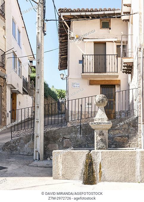 Mombeltrán. Barranco de las cinco villas. Valle del Tiétar. Provincia de Ávila, Castile-Leon, Spain