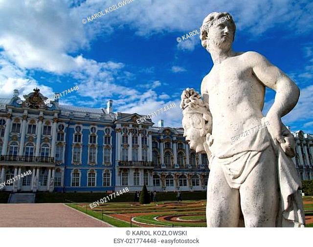 Catherine Palace in Saint Petersburg