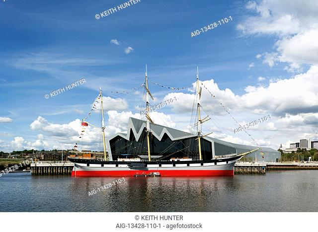 Riverside Museum, Glasgow. Museum of Travel and Transport