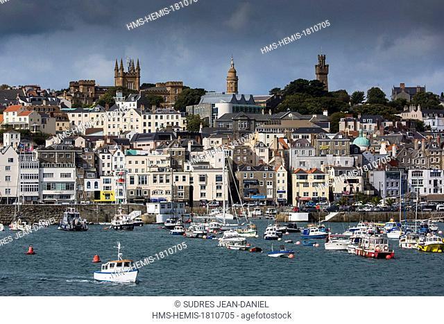 United Kingdom, Channel Islands, Guernsey island, Saint Peter Port