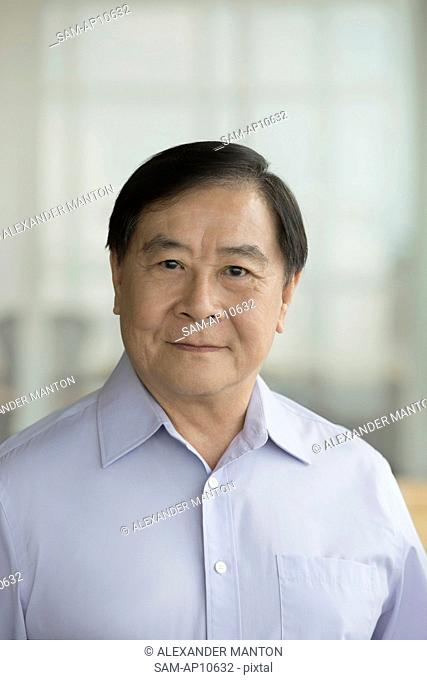 Singapore, Portrait of senior businessman