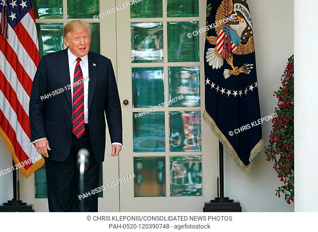 United States President Donald J. Trump makes remarks on modernizing our immigration system for a stronger America at the White House in Washington, DC, May 16