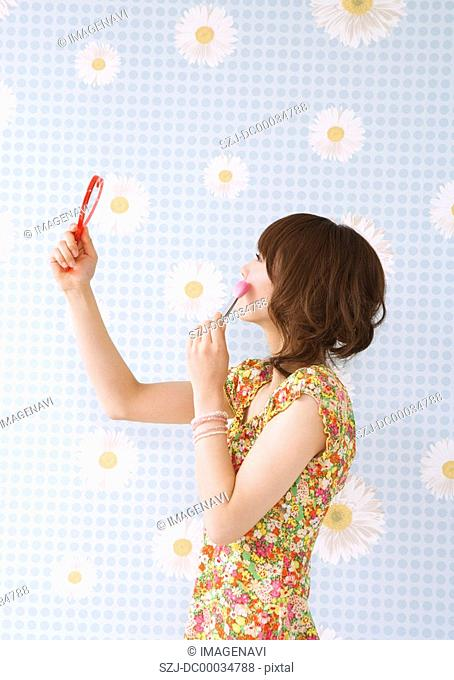 Makeup scene