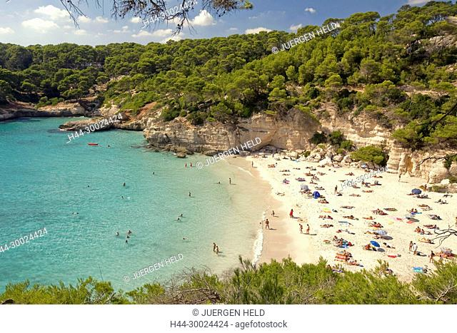 Menorca Cala Mitjana beach