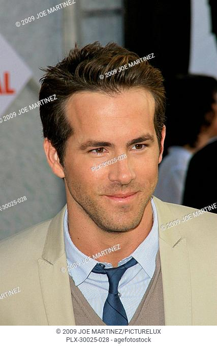 Ryan Reynolds at the World Premiere of Touchstone Pictures' The Proposal held at the El Capitan Theatre in Hollywood, CA, June 1, 2009