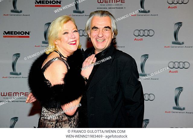 8th annual Audi Generation Award 2014 at Hotel Bayerischer Hof Featuring: Susanne Wiebe,Dr.Karsten Temme Where: Munich, Germany When: 04 Dec 2014 Credit: Franco...