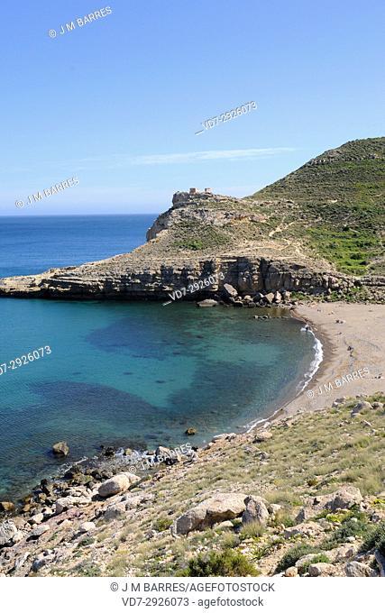 Cala del Cuervo, Las Negras, Cabo de Gata-Nijar Natural Park, Almeria province, Andalucia, Spain