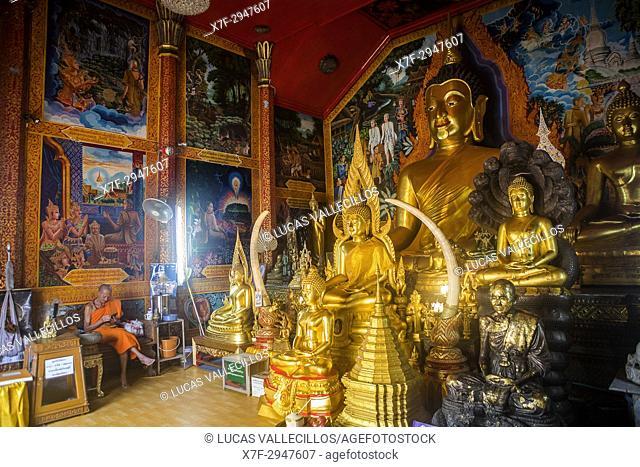 Buddha, in Wat Phra That Doi Suthep Temple of Chiang Mai, Thailand