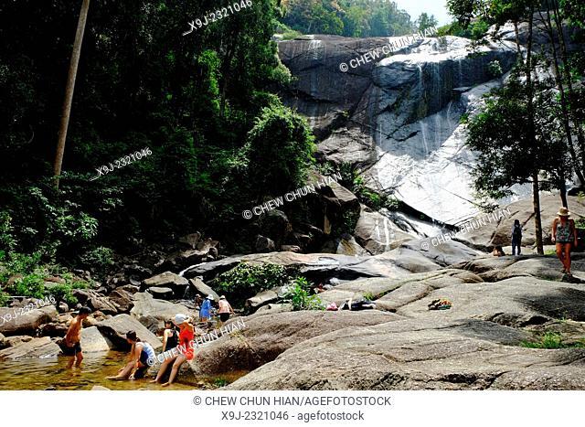 The cascade of the seven wells, Langkawi, Kedah, Malaysia