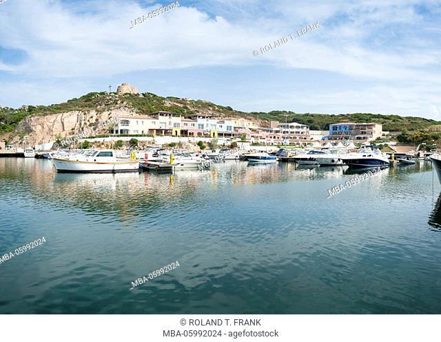 Italy, Sardinia, the Porto Turistico in Santa Teresa di Gallura