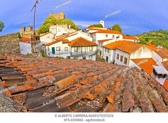 15th Century City Walls of Bragança, Bragança, Portugal, Europe