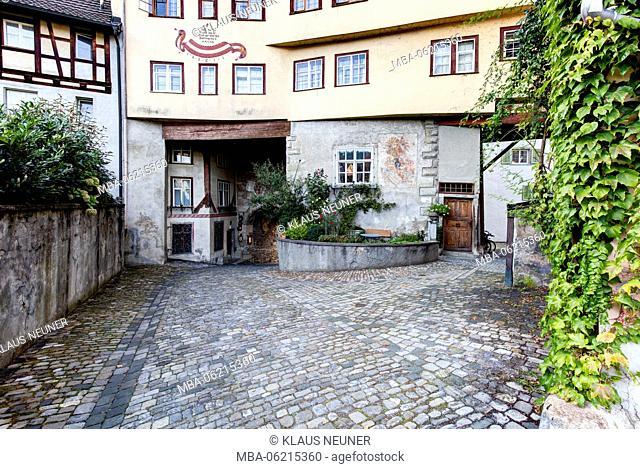 Old City Gate, Facade, Oberstadt, Bregenz, Vorarlberg, Lake Constance, Austria, Europe