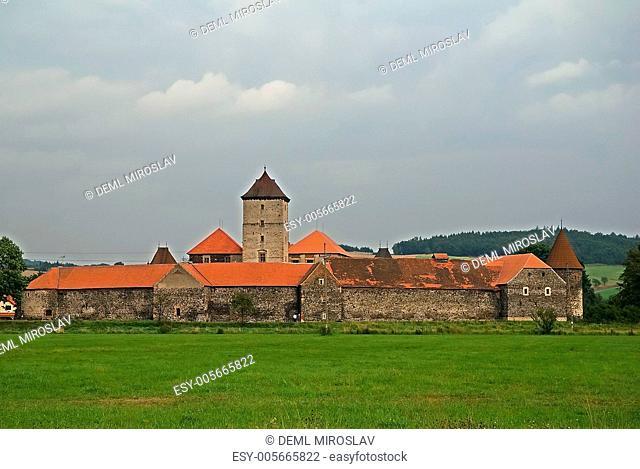 Czech republic, Western Bohemia,castle Svihov