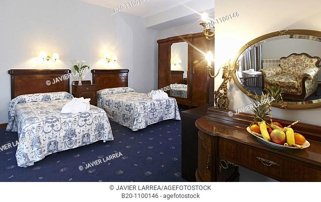 Hotel room. Lierganes Hotel and Spa, Cantabria, Spain