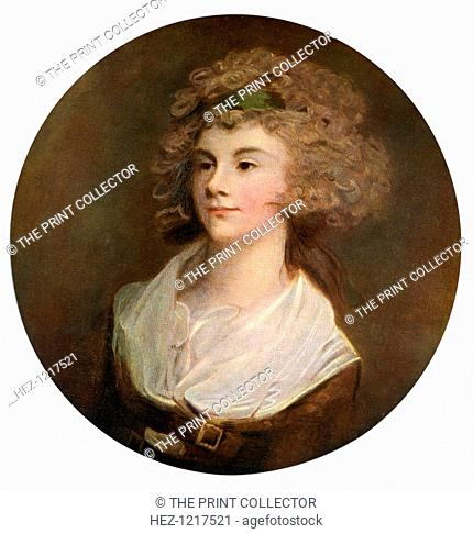 'Parson's Daughter', 1770, (1912). A colour print from Famous Paintings, with an introduction by Gilbert Chesterton, Cassell and Company, (London, New York