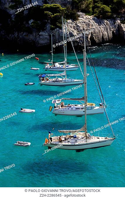 Cala Macarella, Menorca, Balearic Islands, Spain