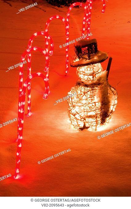 Christmas lights, Keizer Miracle of Christmas Lighting Display, Keizer, Oregon