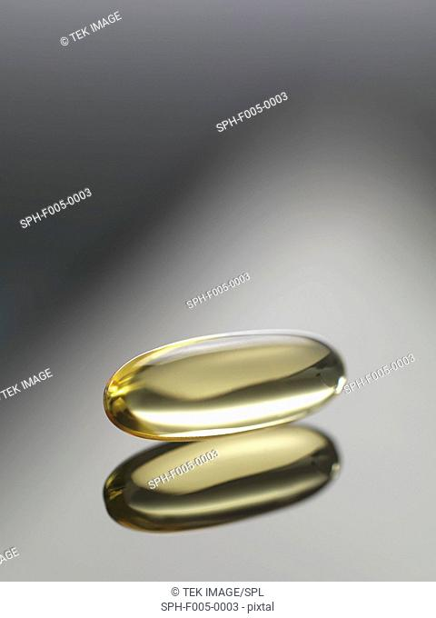 Cod liver oil capsule
