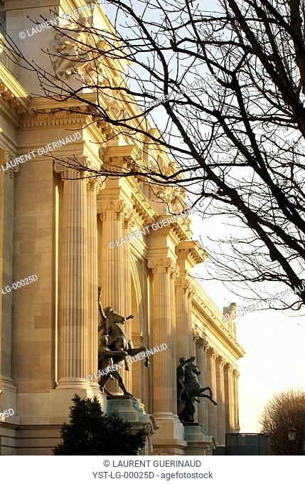 Petit Palais, Winston Churchill Avenue, 8° arrondissement, Ile-de-France, Paris, France