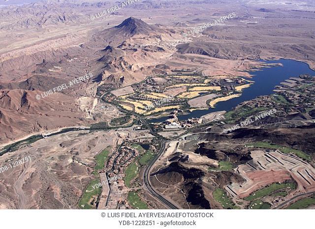 Aerial view of Las Vegas, Nevada, USA