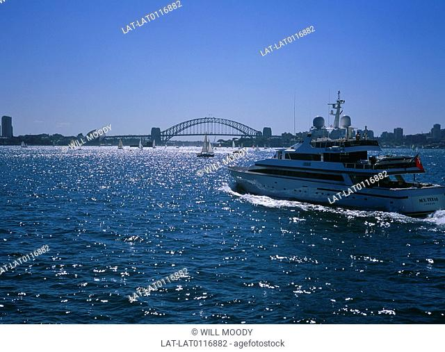 Sydney Harbour is part of Port Jackson and is well known for its iconic landmarks such as the Sydney Harbour Bridge