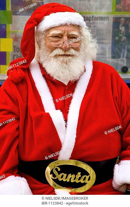Santa at the World Santa Claus Congress, Bakken, Klampenborg, Denmark