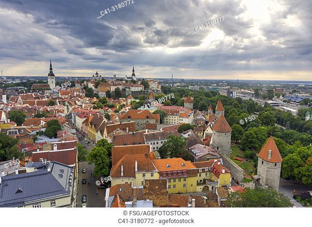 Old town . Tallinn. Estonia