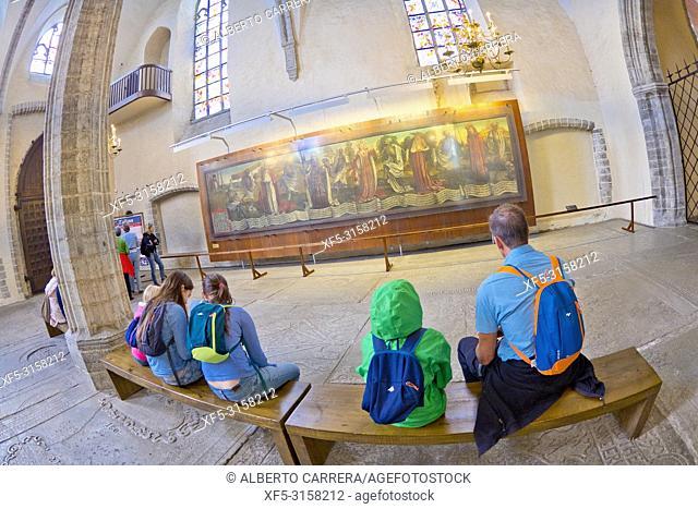 Cathedral of Saint Mary the Virgin, Old Town, Tallinn, Estonia, Europe