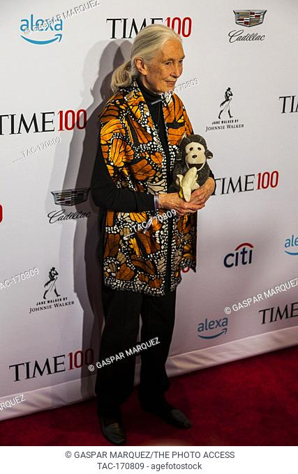 Jane Goodall attends TIME 100 GALA on April 23 in New York City