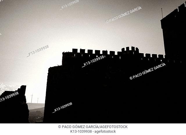 Castillo de Ampudia  Palencia  Castilla-León  España
