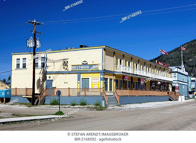 Westmark Inn Hotel, Dawson City, Canada, North America