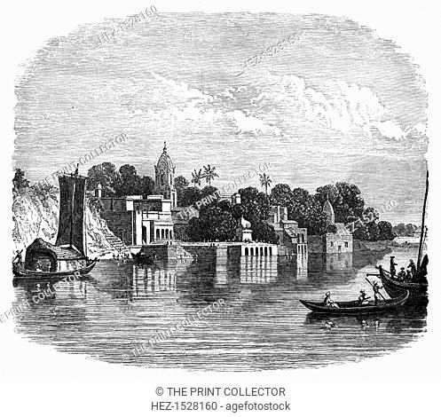 Cawnpore, India, c1888. Illustration from The Life & Times of Queen Victoria, Vol II, by Robert Wilson, (c1888)
