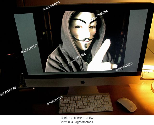Anonymous operation on the net;Intervention Anonymous, Anonymous communicatie Reporters / EUREKA