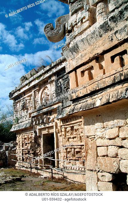 Nun's Annex Chichen Itza Mexico