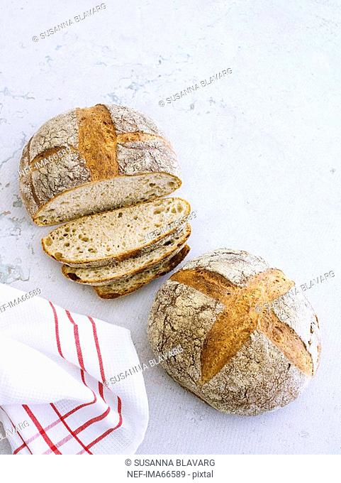 Newly baked bread, Sweden