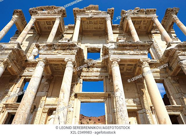 Celsus Library. Ephesus Archaeological Site, Izmir province, Turkey