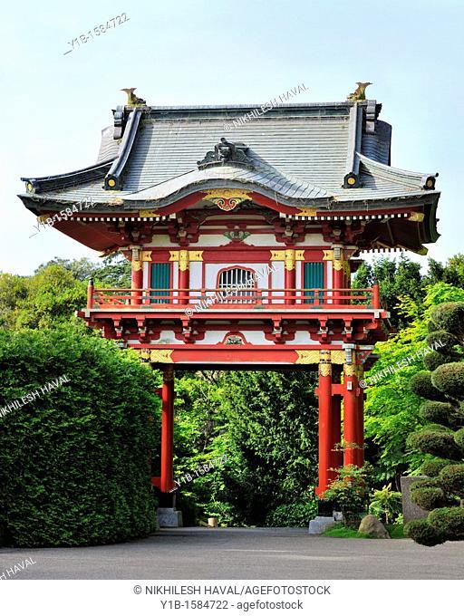 Temple Gate, Japanese Tea Garden, San Francisco
