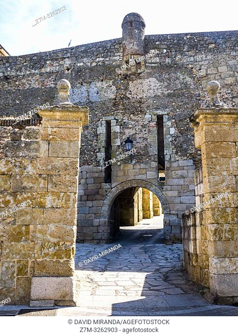 Puerta de Ciudad Rodrigo. Salamanca. Castilla León. España