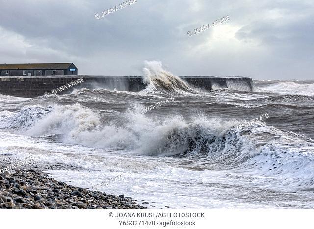 Lyme Regis, Jurassic Coast, Dorset, England, UK