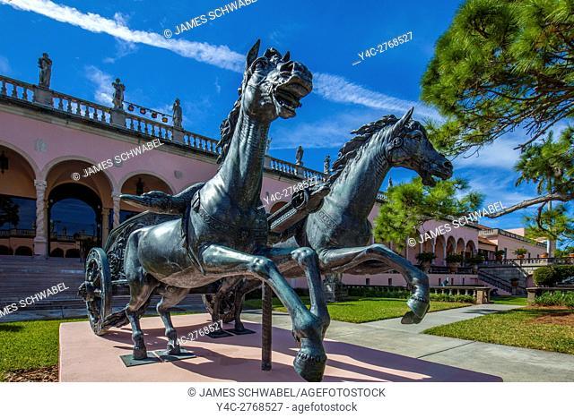 The John and Mable Ringling Museum of Art in Darasota Florida