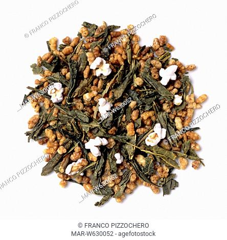 genmaicha, green japanese tea