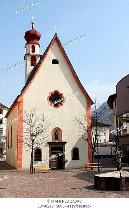 St-Antonius-Kirche, St. Ulrich, Gröden, Südtirol, Italien