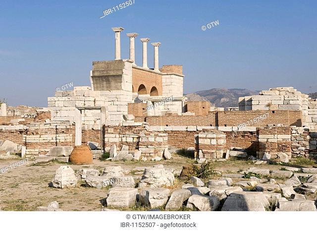 Saint John Basilica, Selçuk, Ephesus, Turkey