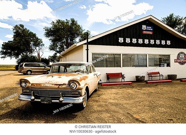 Midpoint Café, Midpoint, Historic Route 66, Texas, USA