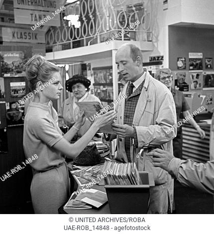Mach's Beste draus, Fernsehfilm, Deutschland 1965, Regie: Peter Beauvais, Darsteller: Sabine Sinjen (?, links)