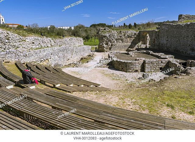 Baths of the Aqueduct, Ruins of the Roman city of Conimbriga, Coimbra District, Baixo Mondego, Centro Region, Portugal, Europe