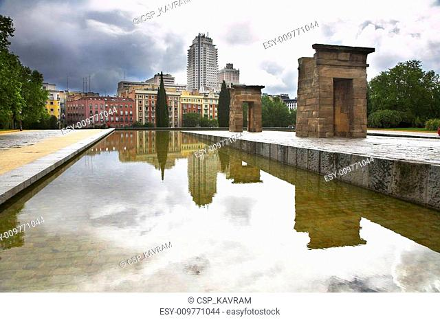 The ancient Egyptian temple Debod