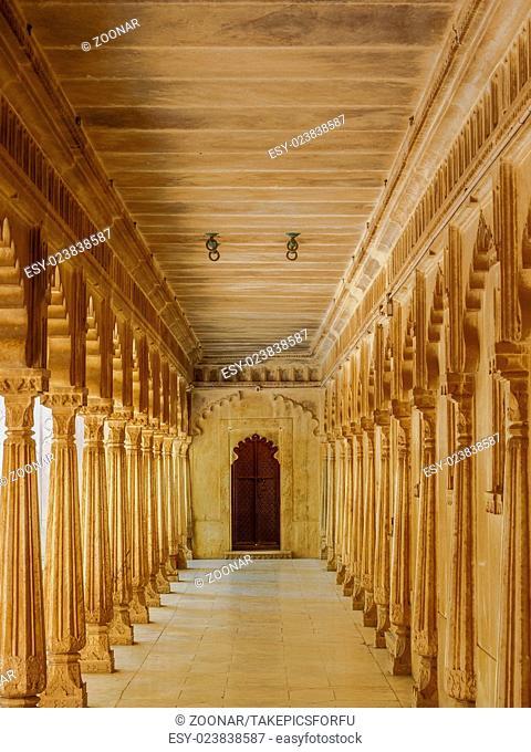 Patio at Udaipur City Palace
