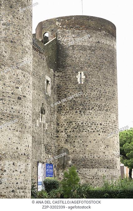 Catania, Castello Ursino - Sicily, Italy