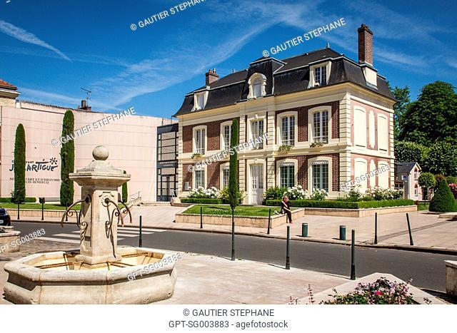 JACQUES HENRI LARTIGUE ART CENTER, LOUIS SENLECQ MUSEUM OF ART AND HISTORY, ISLE-ADAM, (95) VAL D'OISE, ILE DE FRANCE, FRANCE
